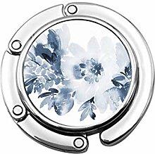 Tasche Kleiderbügel Haken Aquarell Blumen