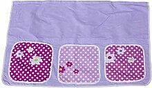 Tasche Stofftasche für Hochbett -Spielbett lila Schloss