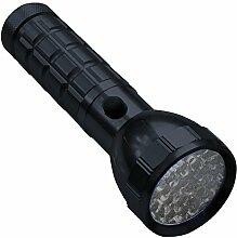 Taschenlampe 28LED Aluminium schwarz