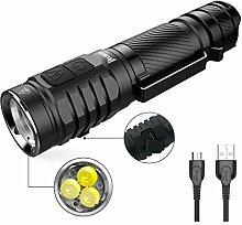 Taschenlampe 3 * LED Super hell 1300 Lumen CREE