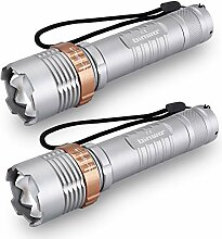 Taschenlampe, BINWO T3000 Hoher Lumen LED