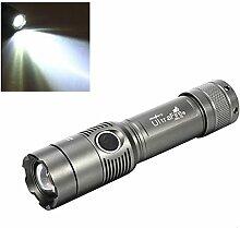 Taschenlampe, happytop 2000Lumen T6LED 3Modi