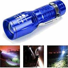 Taschenlampe, happytop 2200Lumen Zoom XM-L