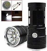 Taschenlampe, happytop 22000lm 11XM-L T6LED