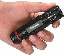 Taschenlampe, happytop 3000LM zoombaren XM-L