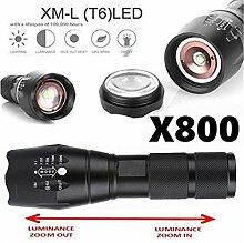 Taschenlampe, happytop 4000lm XM-L T6LED