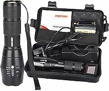 Taschenlampe, happytop X800Bedienung XM-L