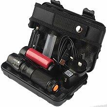 Taschenlampe Kit, happytop 6000LM X800Bedienung