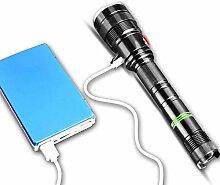 Taschenlampe LED wiederaufladbare Outdoor-Totale