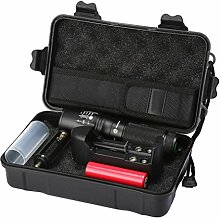Taschenlampen-Set, HARRYSTORE 5000LM Zoomable LED