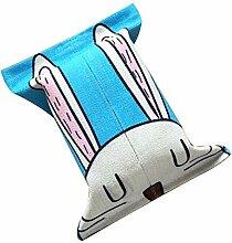 Taschentücher-Tasche Baumwolltuch Serviette Box Schöne Papiertuch-Kasten Art und Weise Gewebe-Kasten