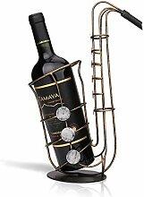 TaSey Weinregal, Saxophon Weinhalter Regal Home