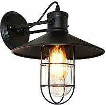 TASGK Industrial Vintage Wandlampe, Innen Creative