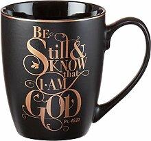 Tasse–werden noch und wissen, dass ich bin