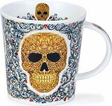 Tasse aus feinem Porzellan Elysium Skull