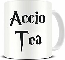 "Tasse aus Keramik mit Aufschrift ""Accio Tea –"