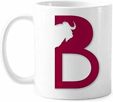 Tasse aus Keramik, Motiv: Pferd, Grassland
