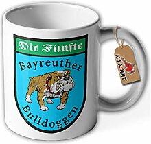Tasse Bayreuther Bulldoggen Die Fünfte Abzeichen
