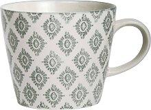 Tasse, Becher CASABLANCA für 250ml grau Steingut