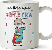 Tasse/Becher/Mug - Ich Liebe Meine Super-Oma -