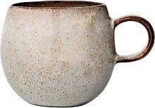 Tasse, Becher SANDRINE, grau, Ø 10,5cm, H.9cm , rund, Keramik, Bloomingville (21,00 EUR / Stück)