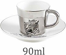 Tasse Becher Wasserbecher Creative Leopard