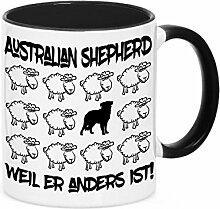 Tasse BLACK SHEEP - AUSTRALIAN SHEPHERD - Hunde