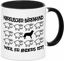 Tasse BLACK SHEEP - KARELISCHER BÄRENHUND - Hunde