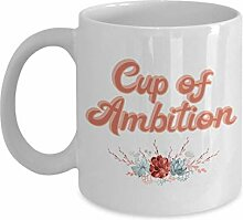 Tasse der Ambition Working Girl 9-5 Dolly Retro