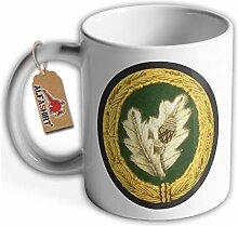 Tasse Einzelkämpfer Bundeswehr Abzeichen Kaffee