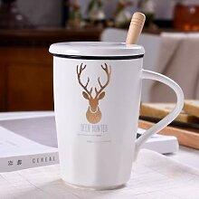 Tasse Geschenk Kaffee 400Ml Ceramic Cup Kit
