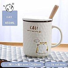 Tasse Geschenk Kaffee Cartoon Cat Mug Neuheit