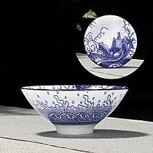 Tasse Geschenk Kaffeebecher 4 Stück/Set Blaue