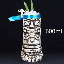 Tasse Geschenk Kaffeebecher 600Ml Keramik Tiki