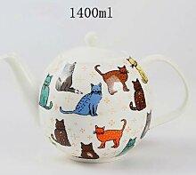 Tasse Geschenk Kaffeebecher British Cat Bone China