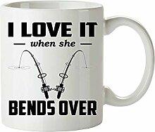 Tasse Geschenk Kaffeebecher Fischerbecher