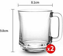 Tasse Geschenk Kaffeebecher Glas Kaffeetassen