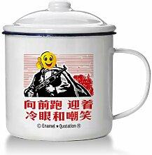 Tasse Geschenk Kaffeebecher Große Eiserne