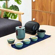 Tasse Geschenk Kaffeebecher Keramik Teekanne Mit 4