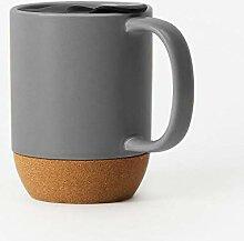 Tasse Geschenk Kaffeebecher Keramikkorkbodenbecher