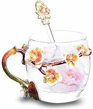 Tasse Geschenk Kaffeebecher Kreative Tasse Blume