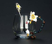 Tasse Geschenk Kaffeebecher Neues Design Emaille