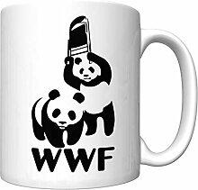 Tasse Geschenk Kaffeebecher Panda Tassen Travel