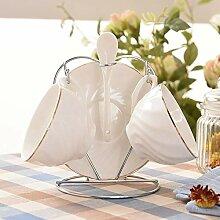 Tasse Geschenk Kaffeebecher Stil Kaffeetassen Set,