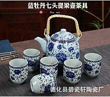 Tasse Geschenk Kaffeebecher Teeservice, Teekanne,