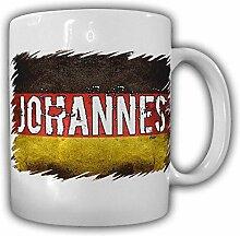 Tasse Johannes Kaffebecher Deutschland Bundesstaat