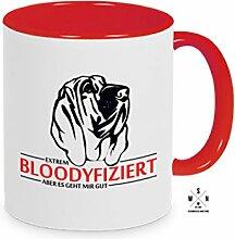 Tasse Kaffeebecher Bloodhound BLOODYFIZIERT