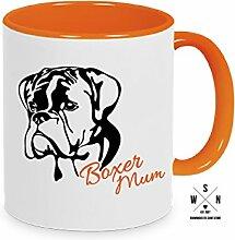 Tasse Kaffeebecher BOXER MUM Hund Hunde fun