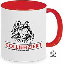 Tasse Kaffeebecher Collie COLLIEFIZIERT INFIZIERT