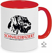 Tasse Kaffeebecher Schnauzer SCHNAUZERFIZIERT